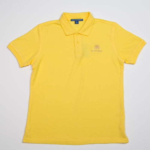 YELLOW POLO WITH LOGO