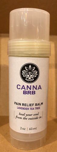Skin Soothing Body Relaxation Balm Twist Stick - Lavender Tea Tree 2oz