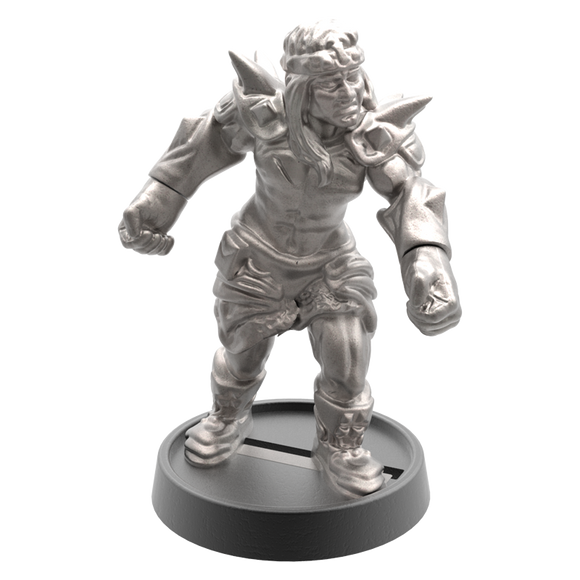 Hand of Glory - customizable modular magnetic hot-swap gaming miniatures, weapons, and items - Barbarian 32mm figure