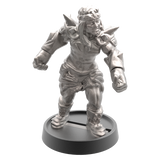 Hand of Glory modular magnetic gaming miniatures, weapons, and items - Barbarian 32mm figure