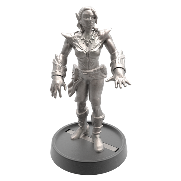 Hand of Glory - customizable modular magnetic hot-swap gaming miniatures, weapons, and items - Elf 32mm figure