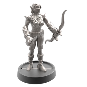 Hand of Glory modular magnetic gaming miniatures, weapons, and items - Elf 32mm figure