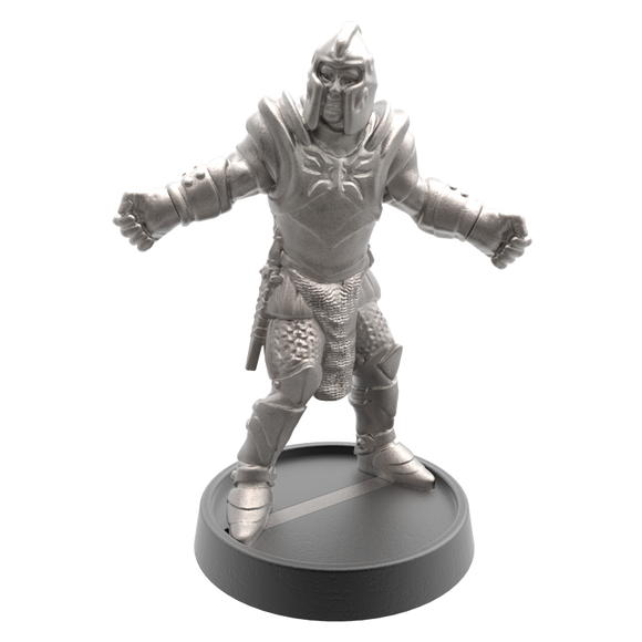 Hand of Glory - customizable modular magnetic hot-swap gaming miniatures, weapons, and items - Knight 32mm figure