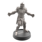 Hand of Glory modular magnetic gaming miniatures, weapons, and items - Knight 32mm figure
