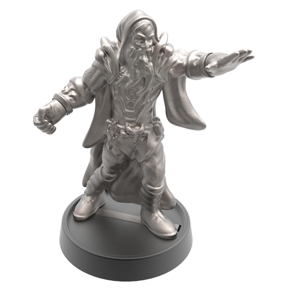 Hand of Glory - customizable modular magnetic hot-swap gaming miniatures, weapons, and items - Sorcerer 32mm figure