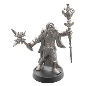 Hand of Glory modular magnetic gaming miniatures, weapons, and items - Sorcerer 32mm figure
