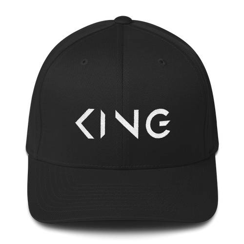 King Structured Twill Cap