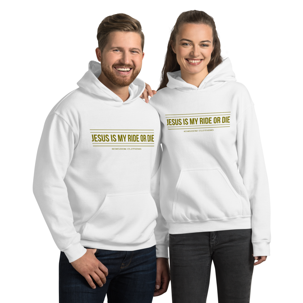 Jesus is my ride or die Unisex Hoodie