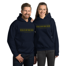 Load image into Gallery viewer, Jesus is my ride or die Unisex Hoodie