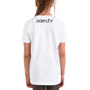 Royalty Short Sleeve T-Shirt for Children