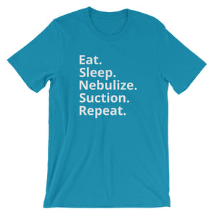 Eat Sleep Nebulize Respiratory Therapist T-Shirt