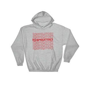 Respiratory Stack High Hoodie Red