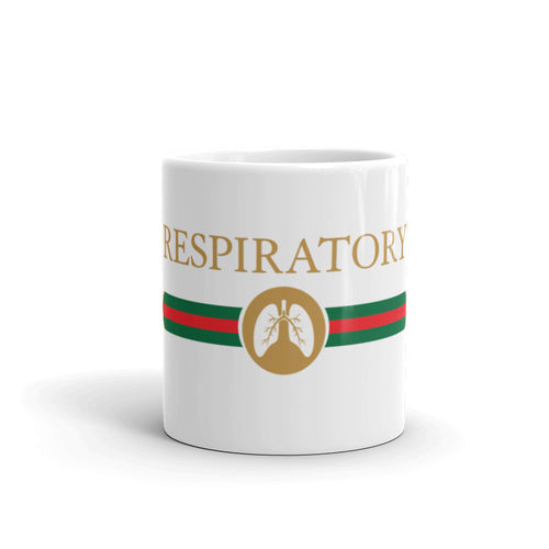Respiratory Luxury Italian Coffee Mug