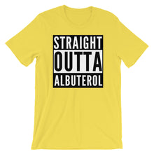 Load image into Gallery viewer, Straight Outta Albuterol Respiratory Therapist T-Shirt