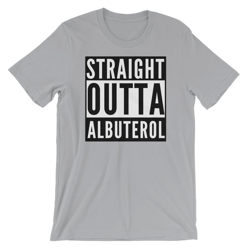 Straight Outta Albuterol Respiratory Therapist T-Shirt
