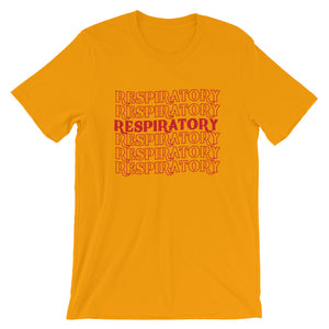 Respiratory Stack High T-Shirt Red