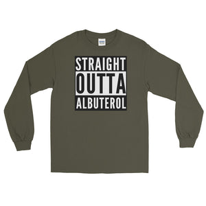 Straight Outta Albuterol Long Sleeve T-Shirt