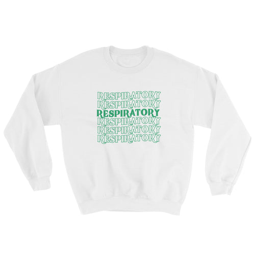 Respiratory Stack High Sweatshirt Green