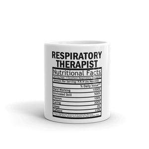 Respiratory Therapist Value Table Coffee Mug