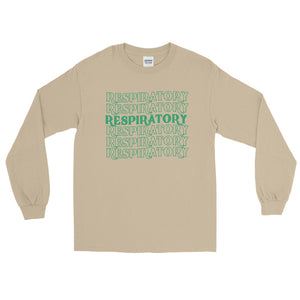 Respiratory Stack High Long Sleeve T-Shirt Green