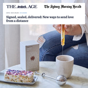 THE AGE: Signed, sealed, delivered: New ways to send love from a distance
