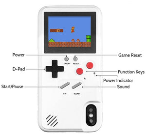 Color Retro Game Case iPhone
