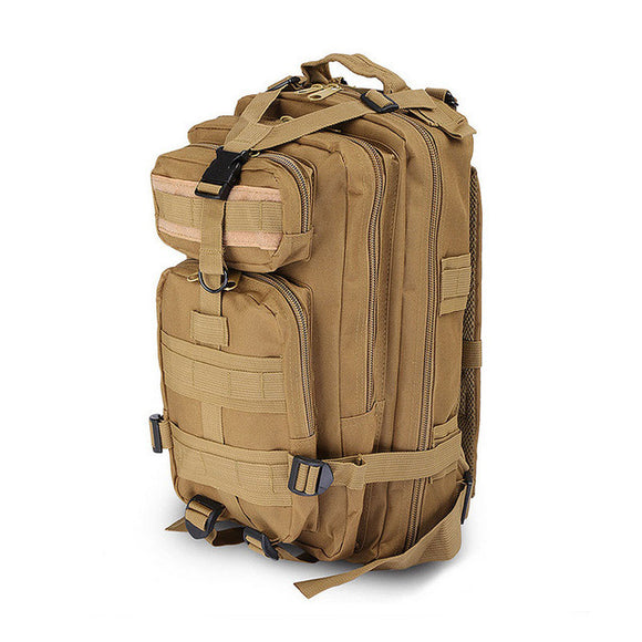 Tan Tactical Hiking Backpack