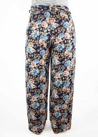 XS Hydrangea Pant-Blue and Pink roses