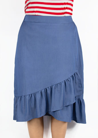 Small Kerria Skirt-Denim