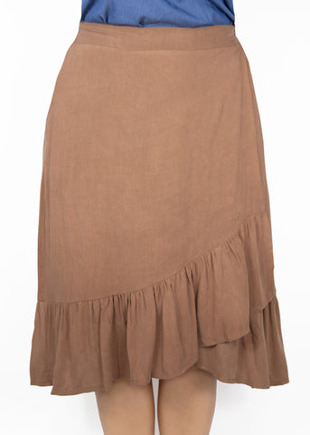 Large Kerria Skirt-Mocha