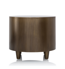 Oly Bruno Side Table Antique Brass