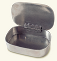 Match Pewter Antler Box