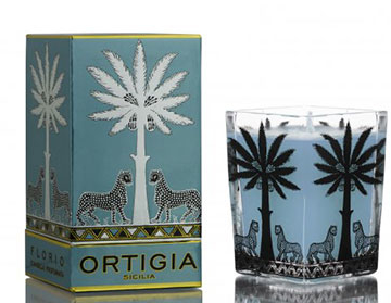 Ortigia Large Square Scented Candle