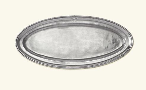 Match Lugano Oval Fish Platter