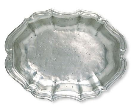 Match Pewter Queen Anne Oval Bowl