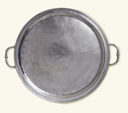 Match Round Tray with Handles Large