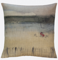 "Maison Levy Pillow ""Tracteur Rouge"""