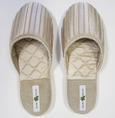 Kumi Kookoon French Pleated Silk Slippers