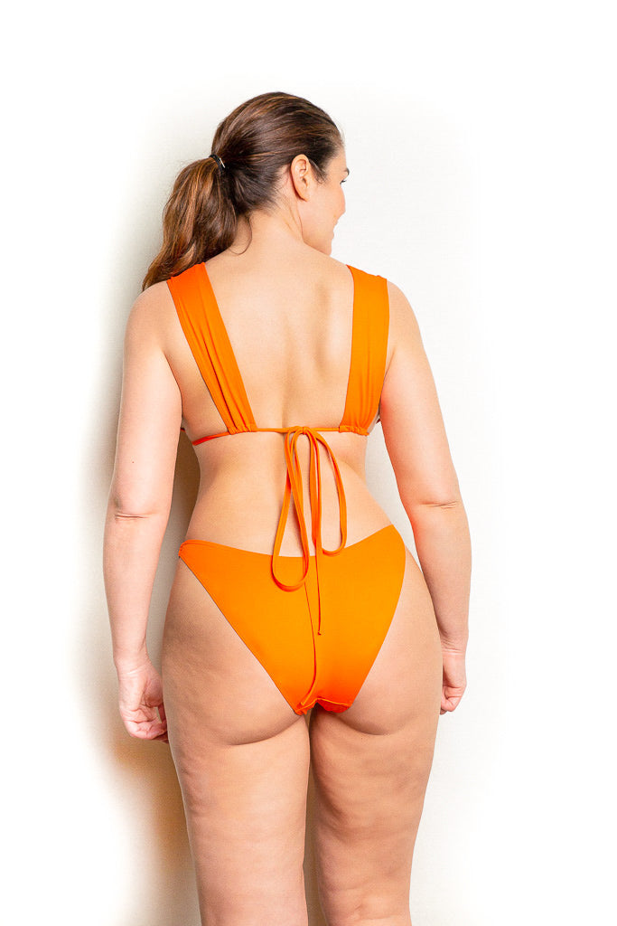 Haut Bianca Orange