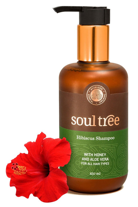 HIBISCUS SHAMPOO WITH HONEY AND ALOE VERA