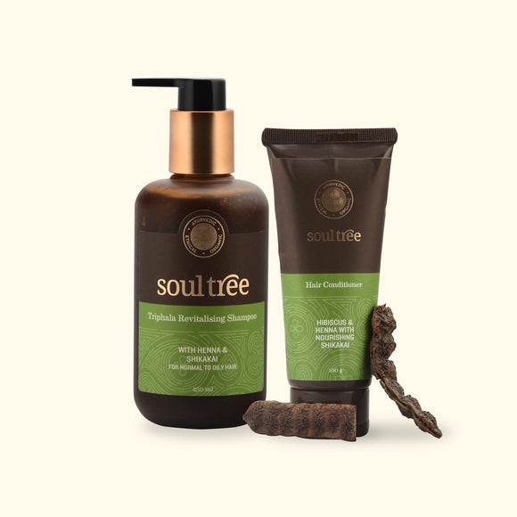 TRIPHALA REVITALISING SHAMPOO & HAIR CONDITIONER SET