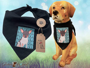 """FriendFurevr"" Person or Pet Bandana"
