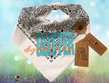"Load image into Gallery viewer, ""Dog Hair Is My Glitter"" Bandana for Dogs or Humans"