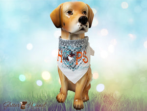 """I Jump Thru Hoops for my Mama"" Bandana Dog Gifts for Mom"