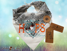 "Load image into Gallery viewer, ""I Jump Thru Hoops for my Mama"" Bandana Dog Gifts for Mom"