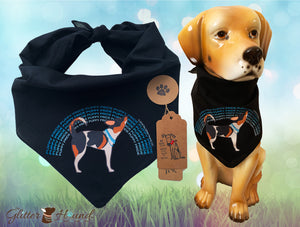 """Puppy Pride"" Dog Bandana for People and Pets"