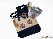 Load image into Gallery viewer, Tote bags for women, Boy Paw Design