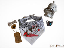 Load image into Gallery viewer, Bandana Store, French Bulldog graphic
