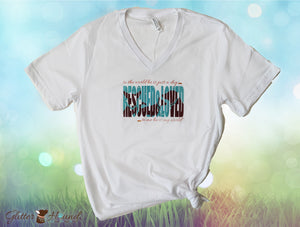 """Rescued & Loved"" Tee Shirt for Dog Heroes"