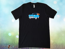 "Load image into Gallery viewer, ""Vintage Car Wagn My Way"" Fun T shirt for Pet Owners"